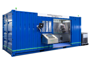 HSC pressure test system container Itensify