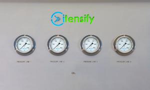 Pressure test/flush unit Ite